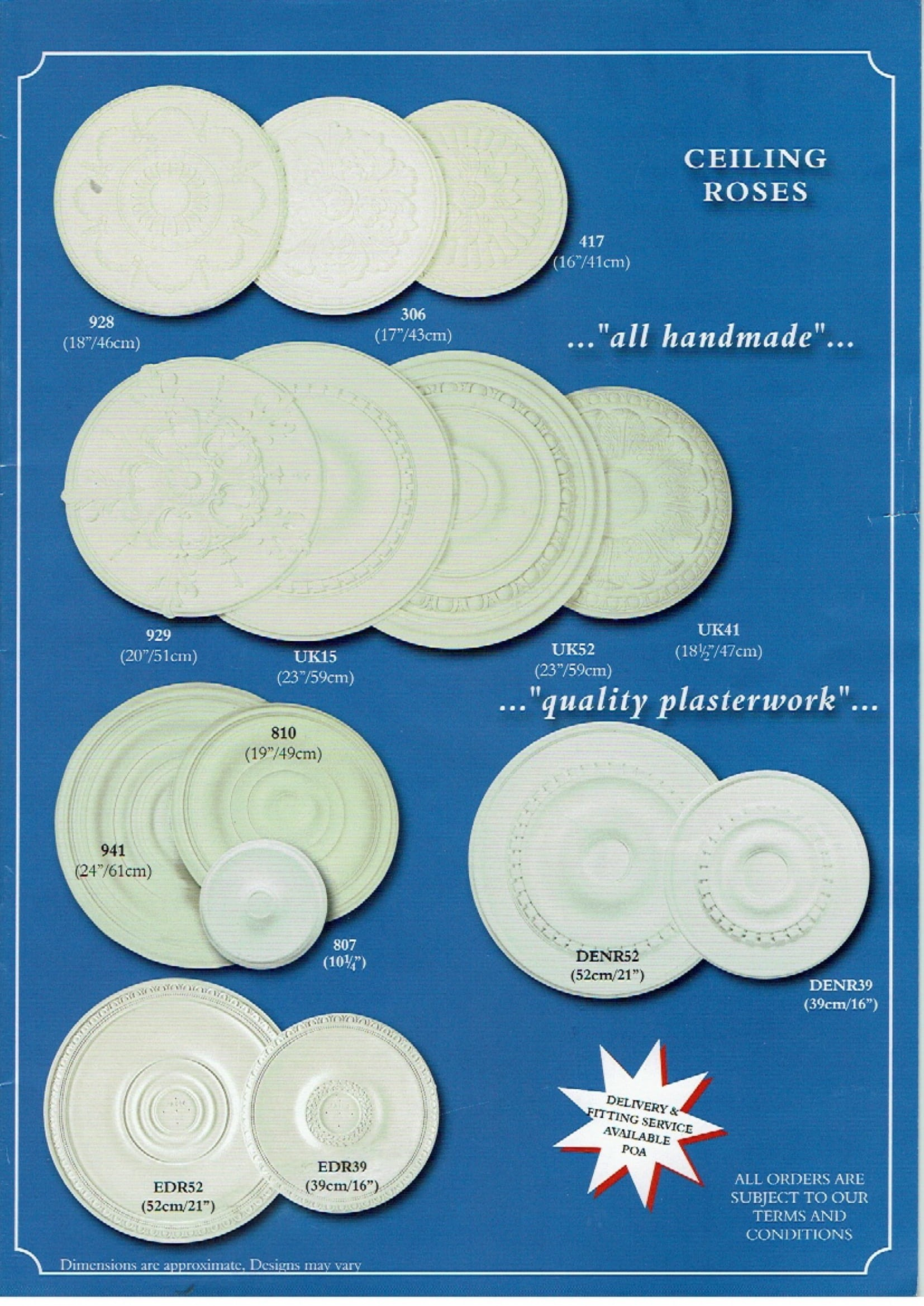 Backsplastermouldings Brochure
